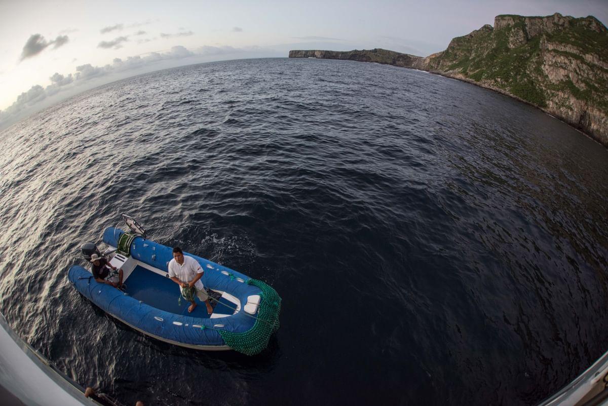 Tender of Galapagos Master