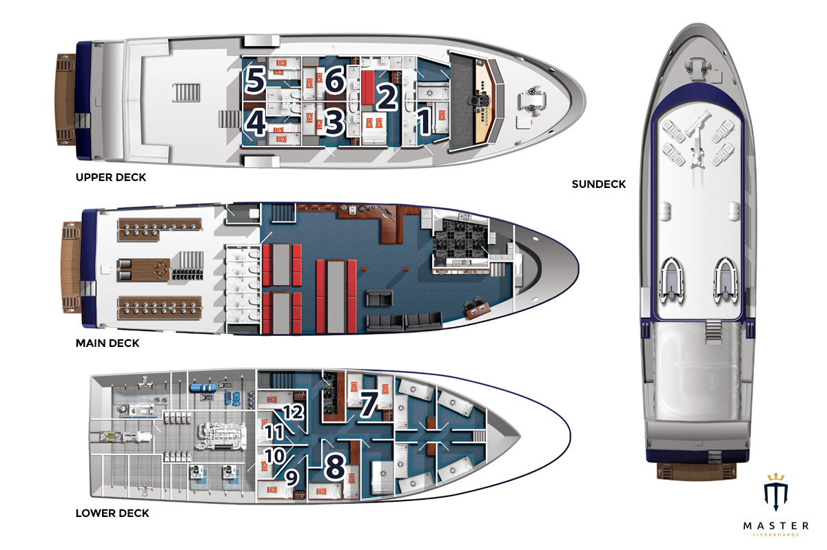 Solomons PNG Deck plan