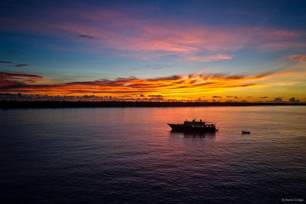 Truk Master, Bikini Atoll sunset