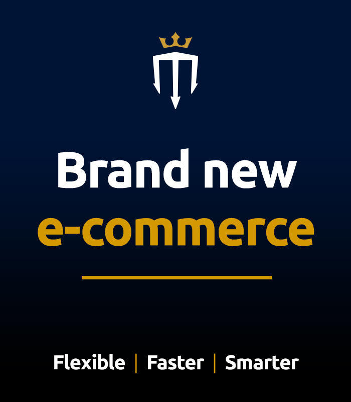Brand new e-commerce