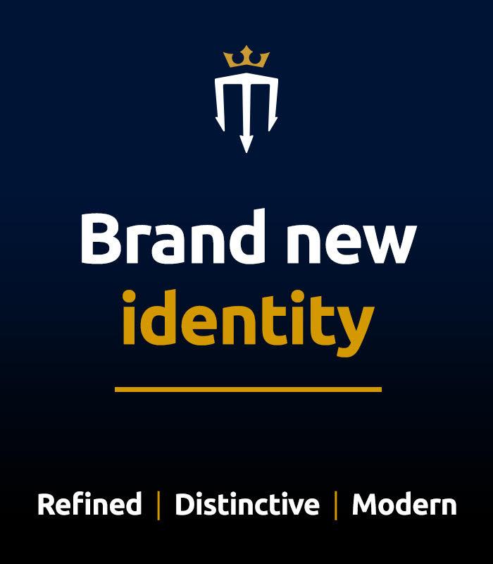 Brand new identity