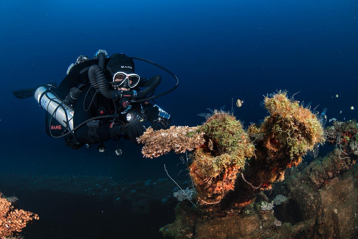 Diving Bikini Atoll and Marshall Islands
