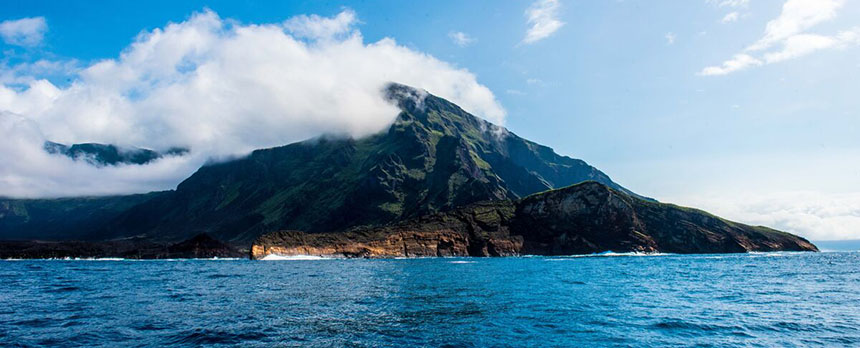 Volcano in Galapagos