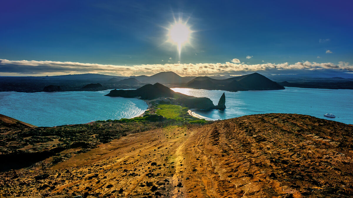 Galapagos, Bartolome Island