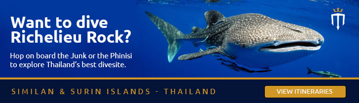 Book Thailand now with Master Liveaboards
