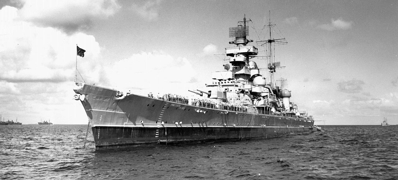 Prinz Eugen in Bikini Atoll