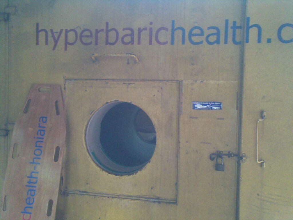 Honiara recompression chamber door