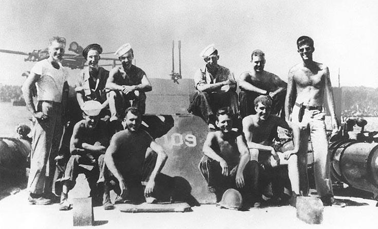 JFK in the Solomons aboard PT-109