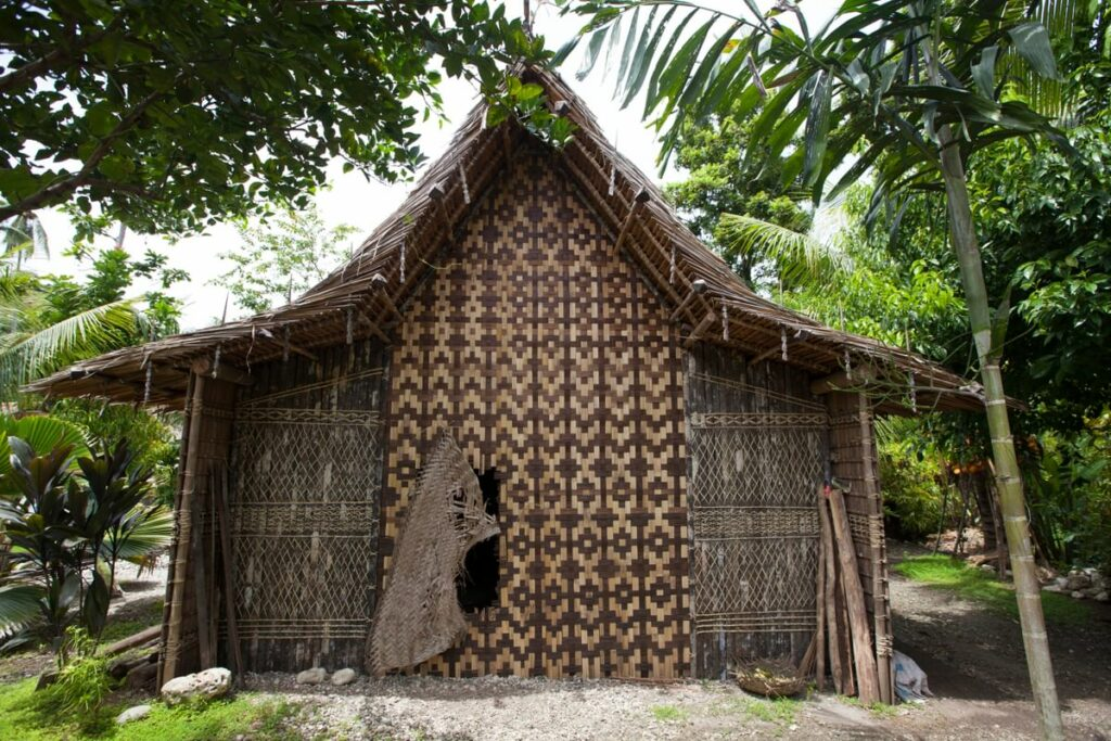 Village house in the Solomons