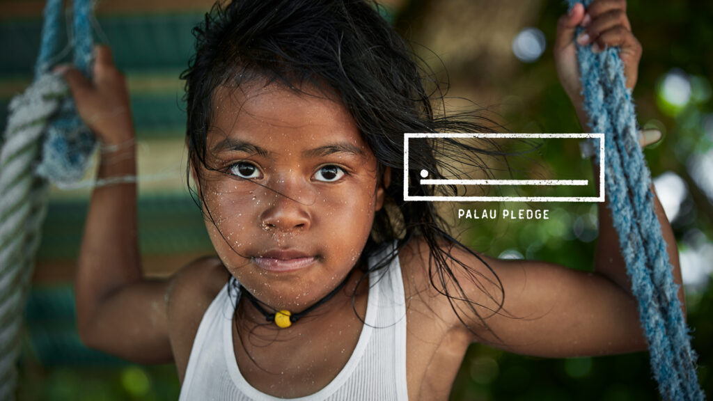 Child of Palau Palau Pledge