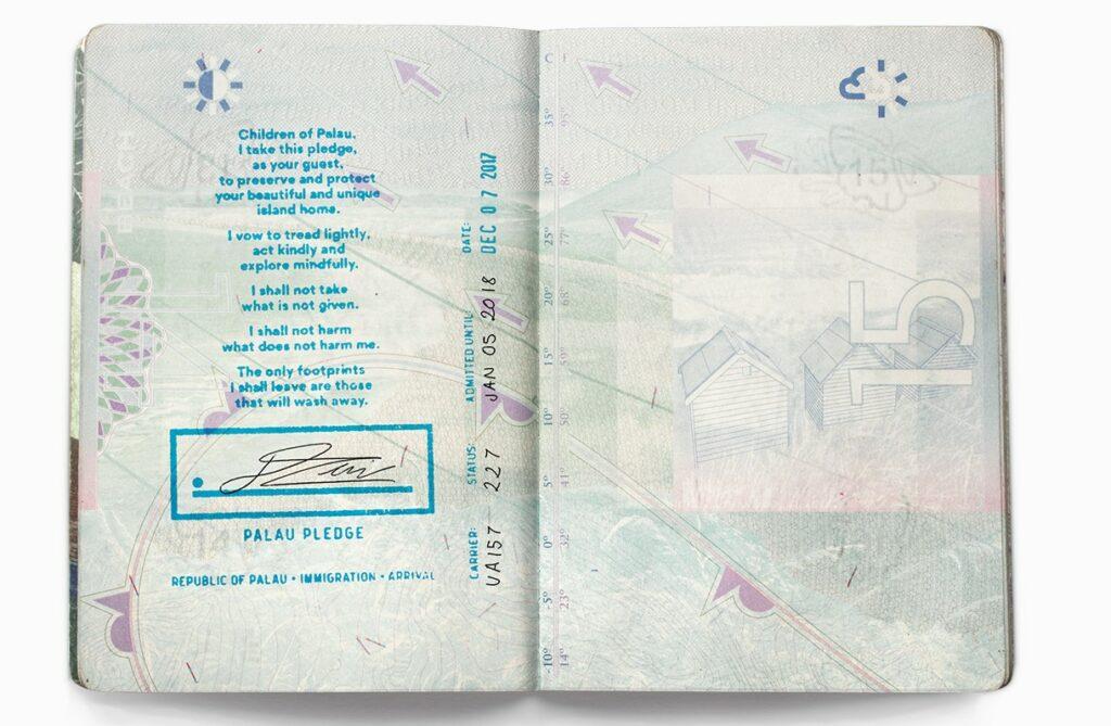 Passport stamp - Palau